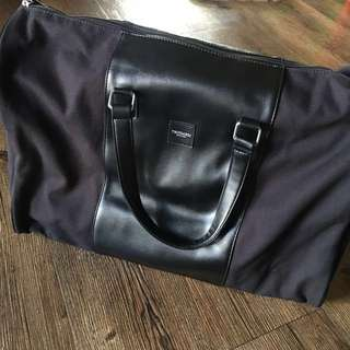 Trussardi Travel Duffel Bag Black