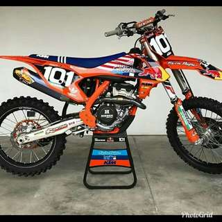 Custom KTM Factory Graphics made in USA