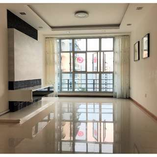 PUNGGOL HDB 4ROOM BLK 195B HIGH FLOOR CORNER UNIT MOVE IN CONDITION UNBLOCK VIEW NO AFTERNOON SUN