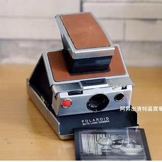 寶麗來 Polaroid SX-70 經典1974 附真皮收納皮套 裂像對焦 手動對焦 拍立得 即拍即影