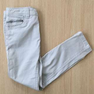 Pale Blue Skinny Jeans
