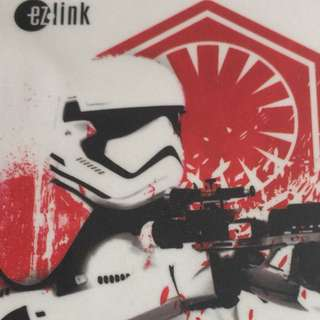 Brand new limited Edition Star Wars The Last Jedi ezlink For $11.90.