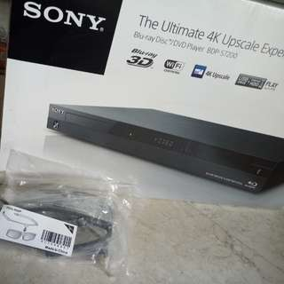 Sony Blu Ray Player BDP S7200