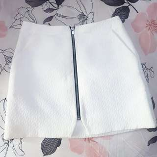 TOPSHOP White Skirt