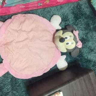 Baby Minnie Mouse mat