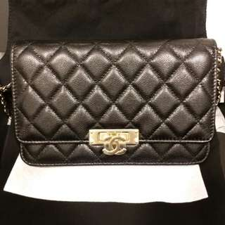 Brand new Chanel wallet on chain WOC