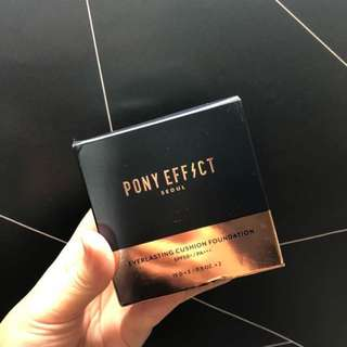 Pony Effect Everlasting Cushion Foundation in Natural Ivory (Shade 21 #3)
