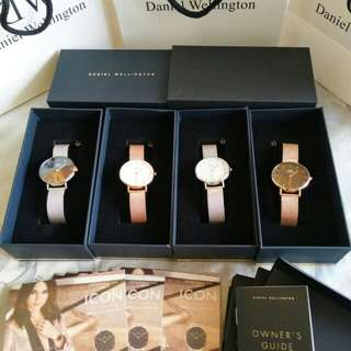 Promo Daniel Wellington Watch Import Original