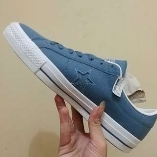 Converse one star pro ox blue