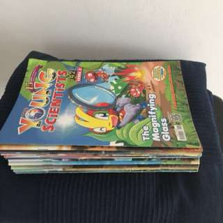 Young scientist lot sale level 2,3&4.total 43 issues