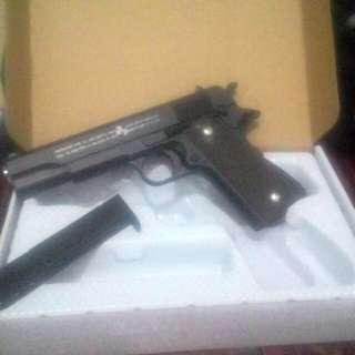 Airsoft gun spring type