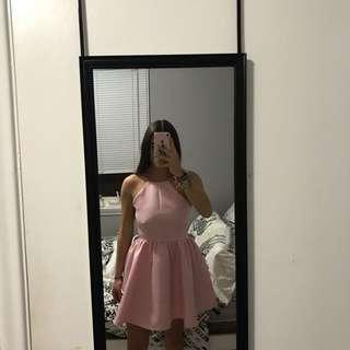 HONEY Open-Back Dress