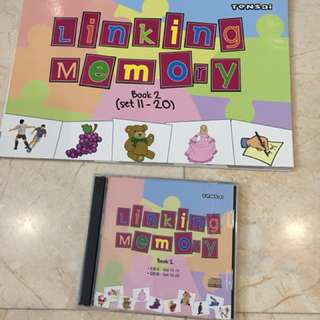 Shichida linking memory book & cd set 1 and 2