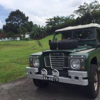 Land rover series 2a 1974