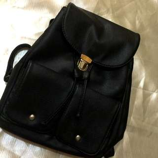 Black 2 Way Bag