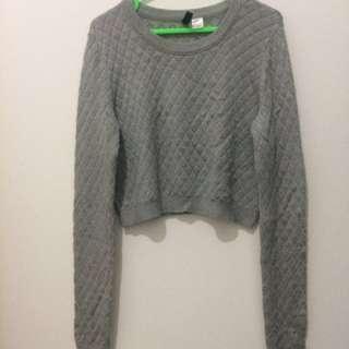 Crop top sweater H&M