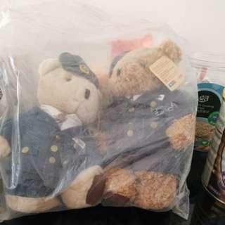 港鐵熊公仔/MTR teddy bears