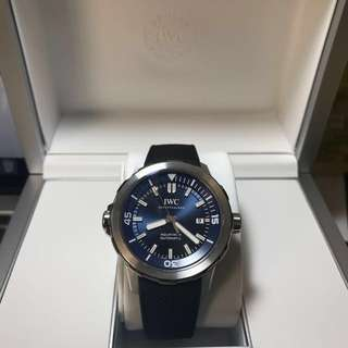 BRAND NEW LIMITED EDITION IWC Schaffhausen Expedition Jacques-Yves Cousteau Aquatimer Automatic