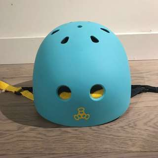 Triple Eight Baja Teal Helmet