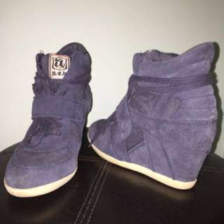 ASH Bowie Wedge Sneakers SIZE 38