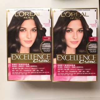 Loreal Hair Dye (Dark Brown)