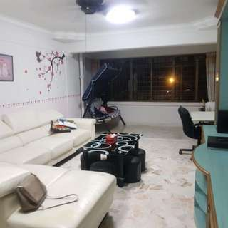 Immediate 3 bedrooms HDB  on a hilltop for rent