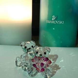 限量)Swarovski 施華洛世奇水晶裝飾擺設 (小熊) #聖誕禮物 #結婚禮物