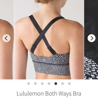 Lululemon Both Way Sports Bra- CAN 6