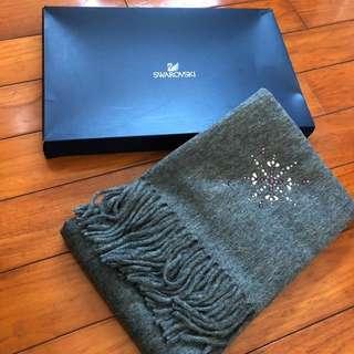 Swarovski 圍巾 全新