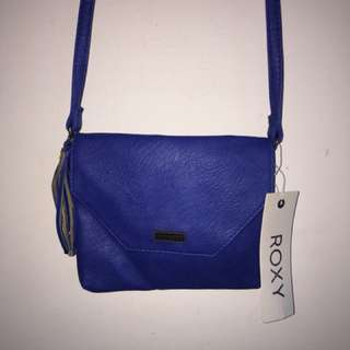 Roxy blue shoulder bag