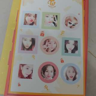 twice knock knock sticker