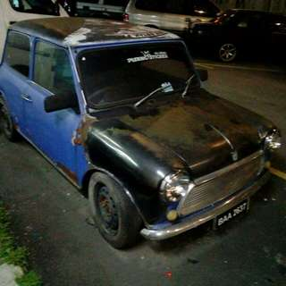 2 local mini cooper with 1 title lump sum