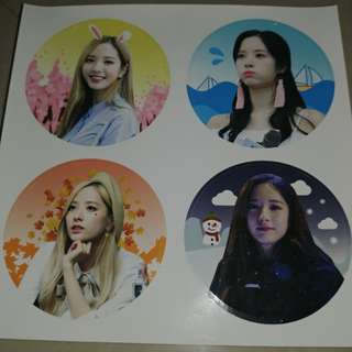 wjsn bona sticker