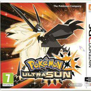 Looking for.. pokemon ultra sun and moon