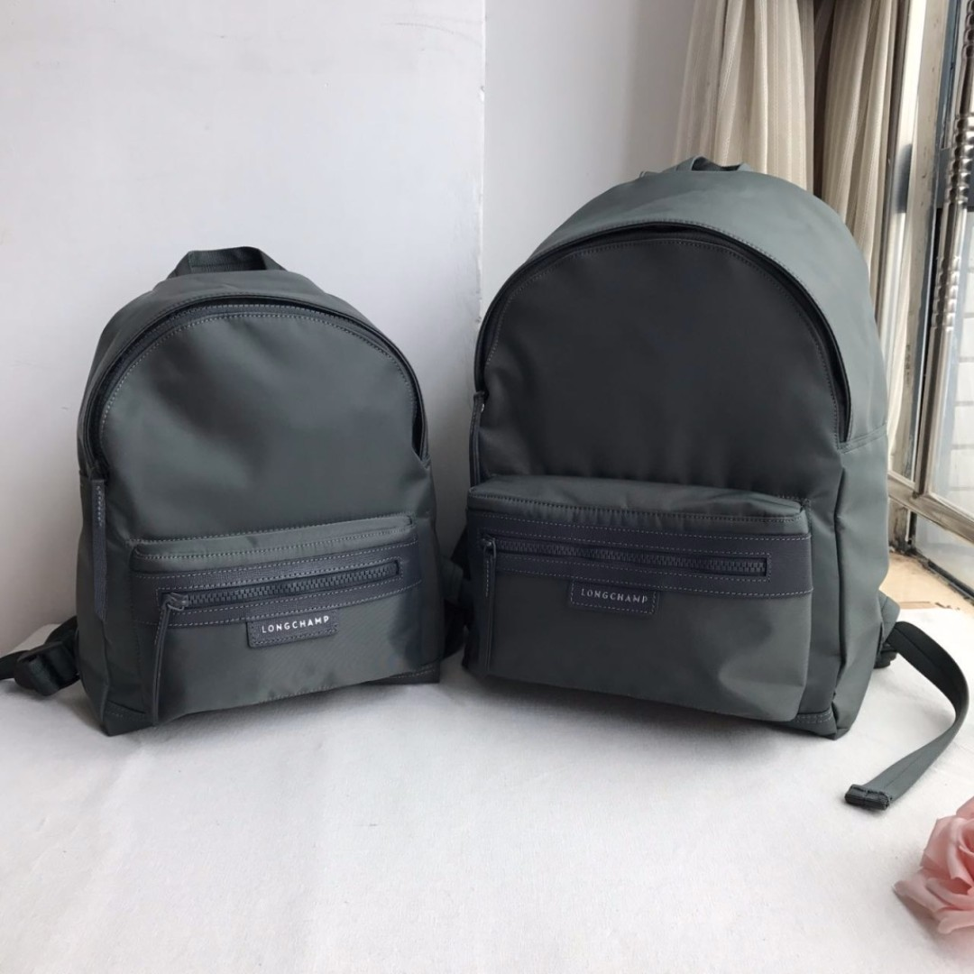 12.12 Longchamp Le Pliage Neo Backpack M - GREY 92f5c59a3d269