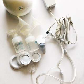 Philips AVENT Twin Electrobic Breast Pump SCF314