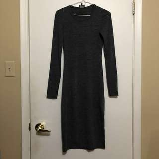 Aritzia Fitted Longsleeve Dress