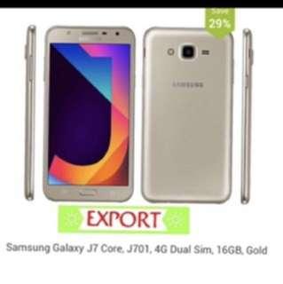 Samsung Galaxy J7 Core 2/16GB Gold (Export)
