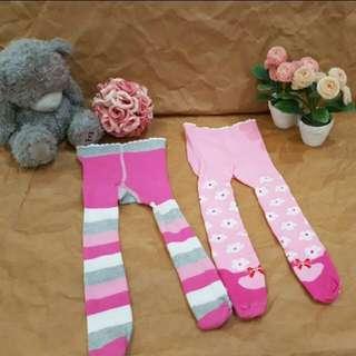 2 sets Flower Baby Legging size 0-3mos