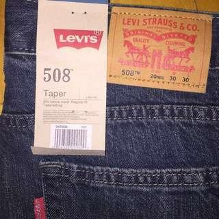 Levi's 508 -Taper leg Regular fit