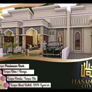Promo kavling syariah di bogor hasanah city Parung panjang
