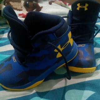 Baby rubber shoes Steph Curry by Under Armour