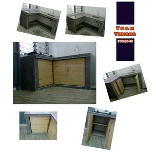 Servis buat kabinet Plywood+Cat