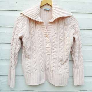 Pink Chenile Pullover