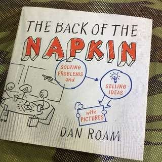 The Back of the Napkin: Solving Problems and Selling Ideas with Pictures, by Dan Roam (Hard cover)