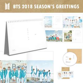 KPOP 2018 season's greetings and albums GROUP ORDER