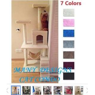 1.5M height Cat Scratching Tree/Cat House
