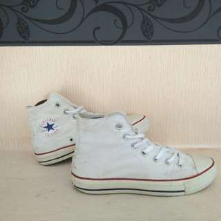 Converse High White CT