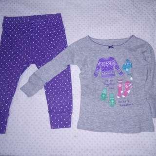 Carters Baby Sleepwear set