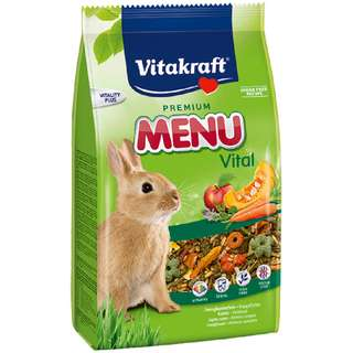 Vitakraft Premium Menu Vital Rabbit/Bunny Pellets Food - 500g